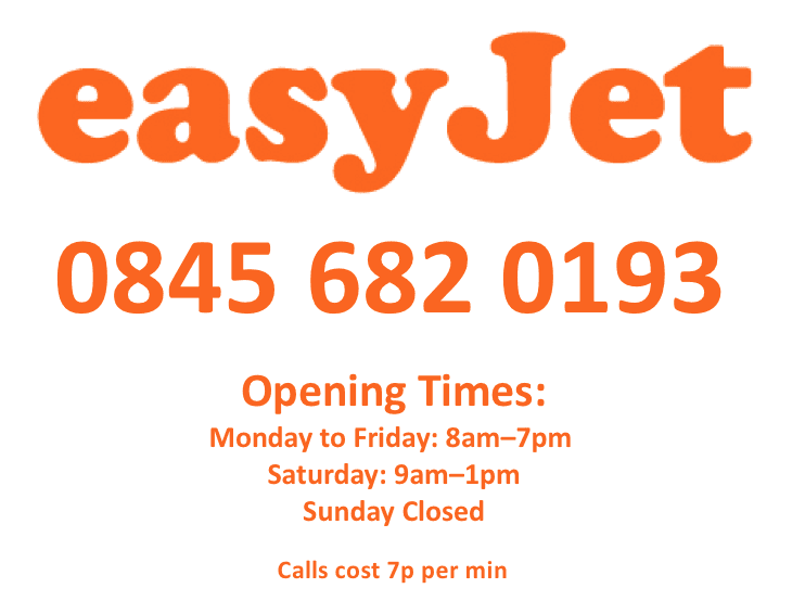 Easyjet+opening+hours+and+contact+number