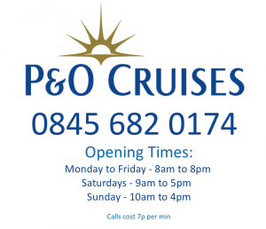 P&O+Cruises+Telephone+Number+and+opening+times