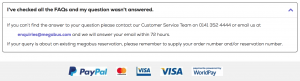 Megabus customer service contact number