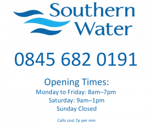Southern+Water+contact+number+and+opening+times