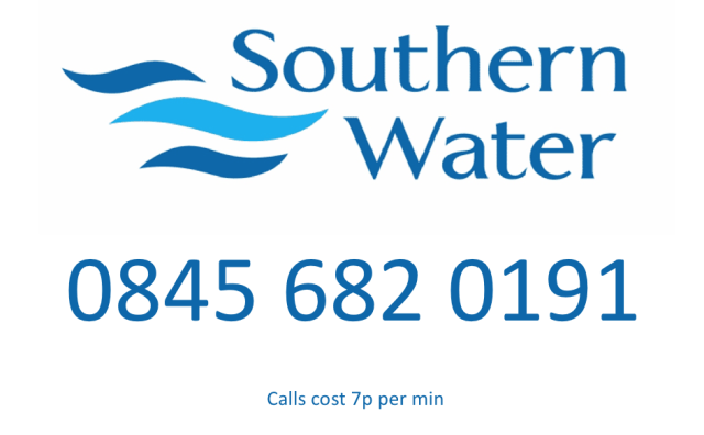Southern+water+contact+number+and+logo