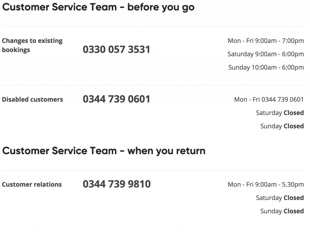 Virgin Holidays Customer Service Contact Number