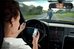 Don't text and drive use contact numbers instead