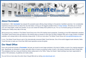 Sunmaster About Us