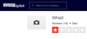 Whistl Trustpilot Review