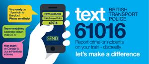 TFL Texting In Emergency