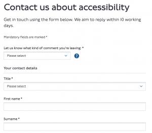 TFL Contact Form